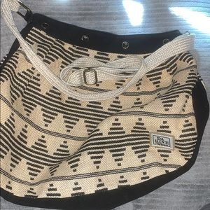 Tan / Black Bohemian Dakine Purse